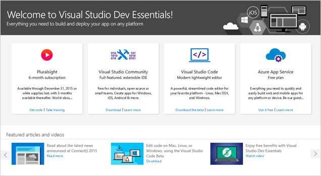 Download SQL Server 2014 Developer Edition Free for Visual