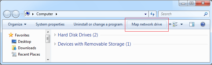 How to Map Network Drive in SQL Server